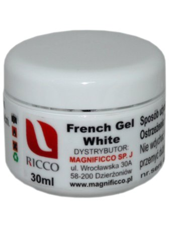 Ricco French Gel White 30 ml